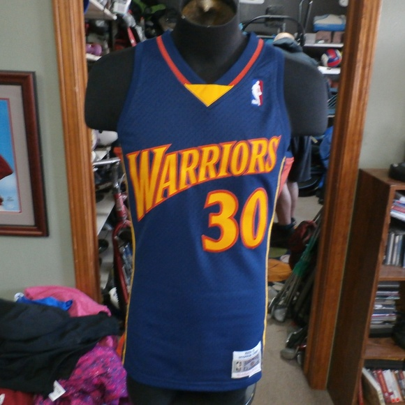 new arrival c5e91 30c49 Stephen Curry 09-10 Warriors Jersey Small #33974